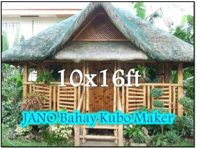 Philippine bamboo house design 28 images bamboo house for Native house plan