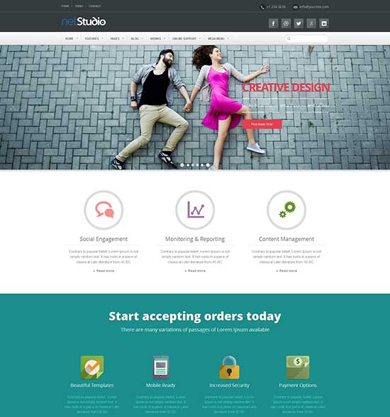 13 Best Web Design Templates Images - Best Website Design Templates