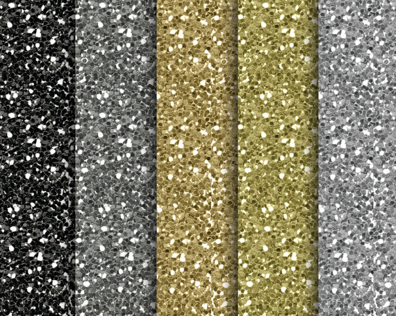 12 Silver And Gold Scrapbook Design Images Black And Gold