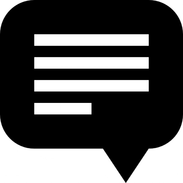 8 Icon Chat Bubble With Lines Images