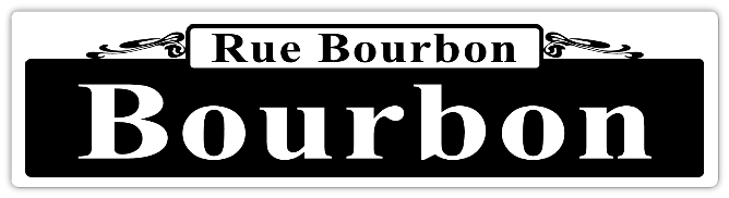 Bourbon Street Sign Template