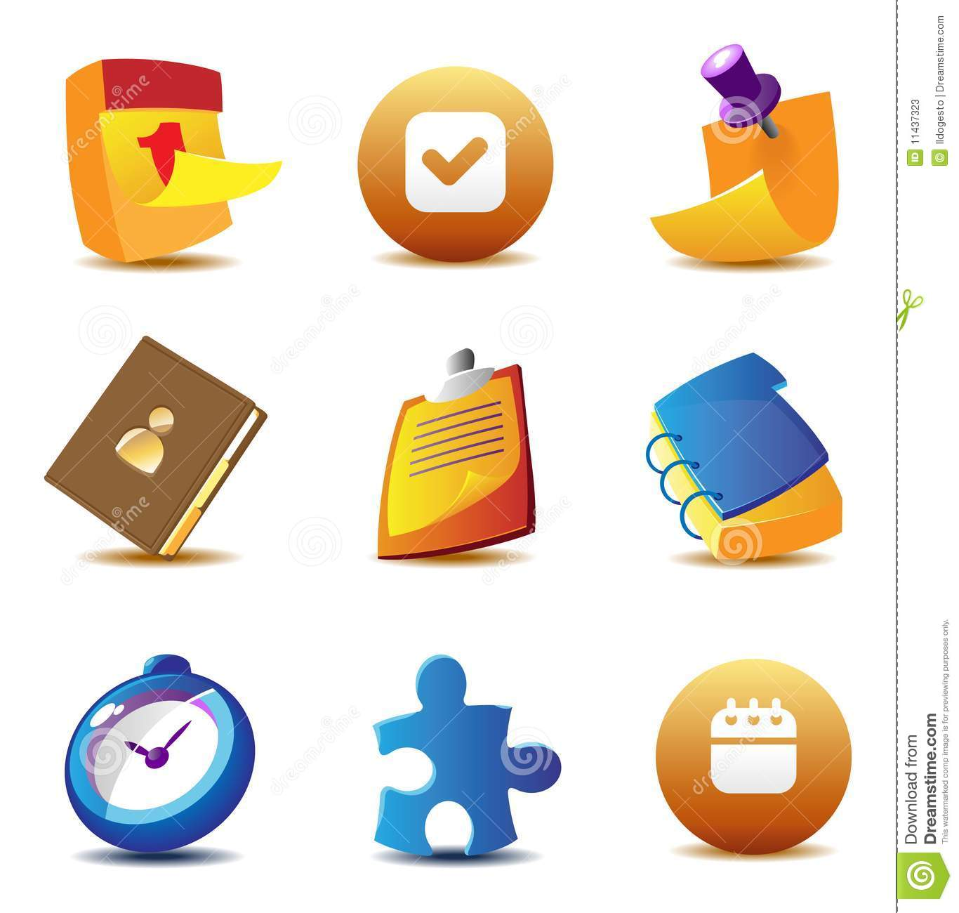 Business Planning Icon Vector