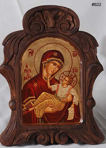 12 Greek Icons Christmas Images