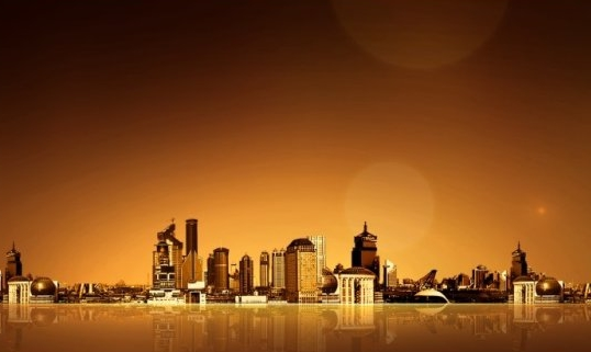 City Background Photoshop PSD