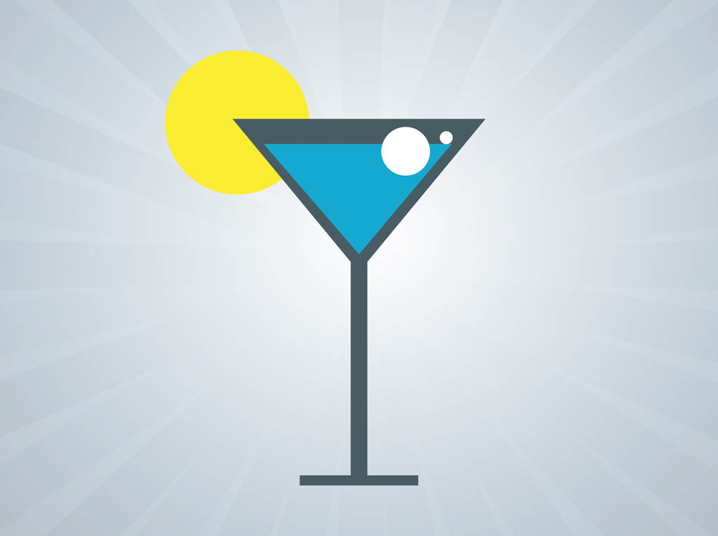 Cocktail Glass Clip Art