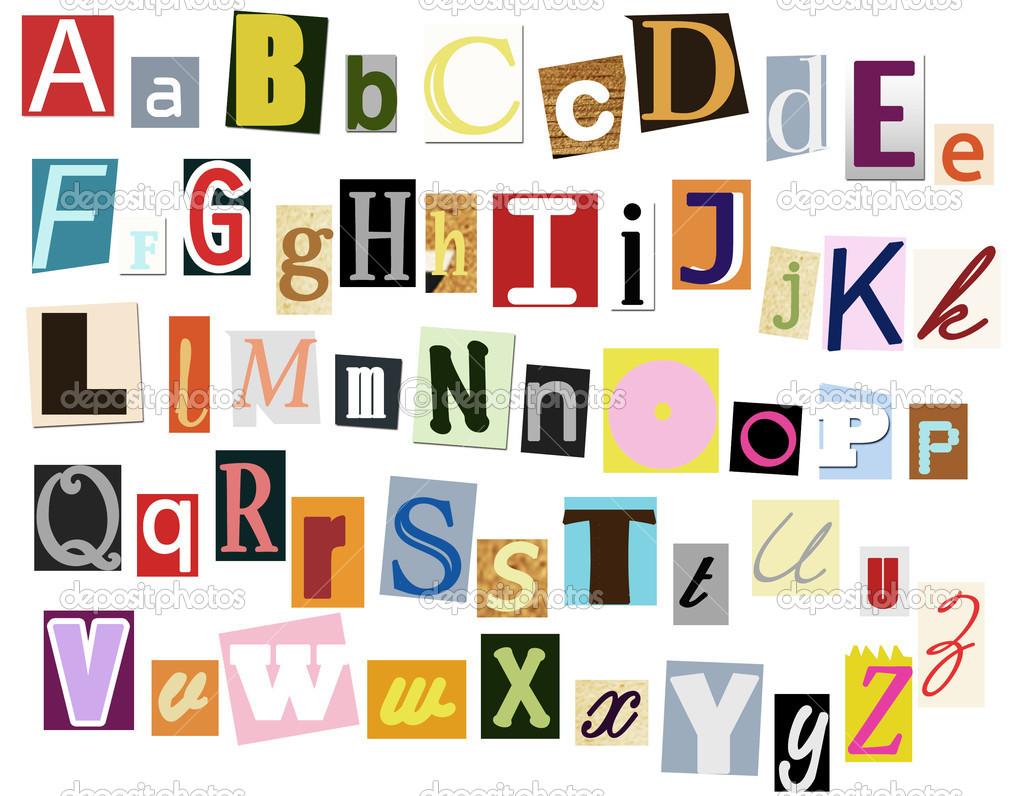 10 magazine cut out letters font images magazine letters cut out colorful cut out alphabet letters spiritdancerdesigns Images