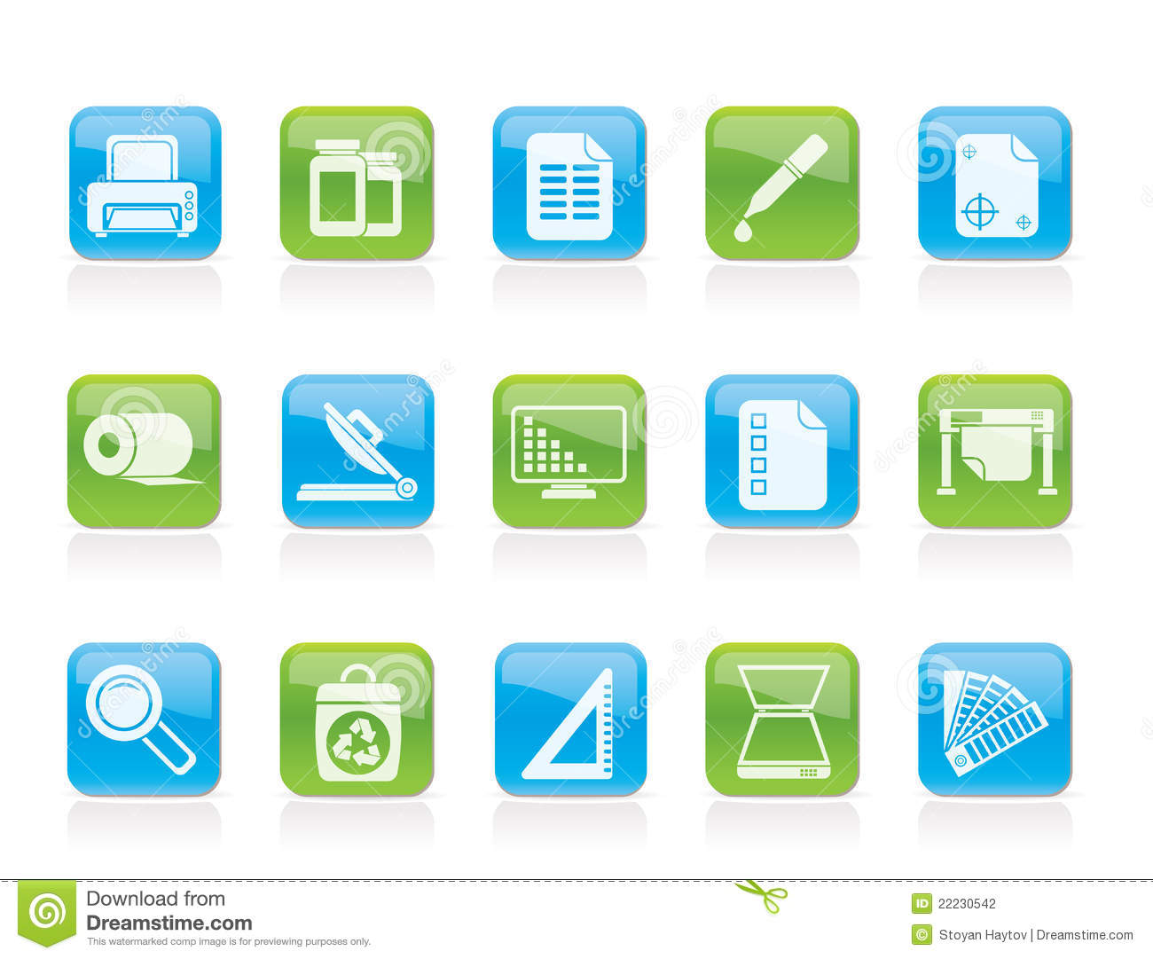 Commercial Print Icon