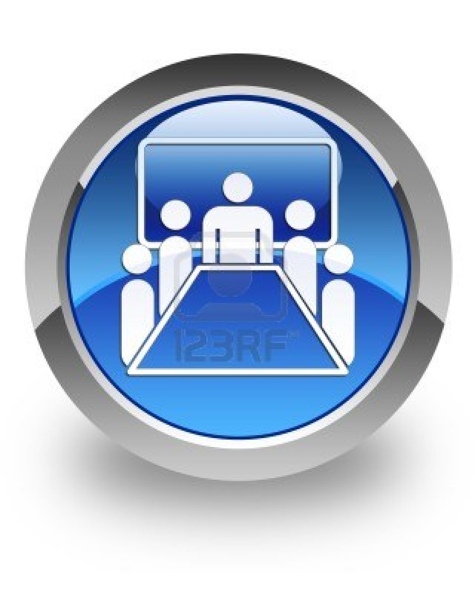 5 Conference Meeting Icon Images