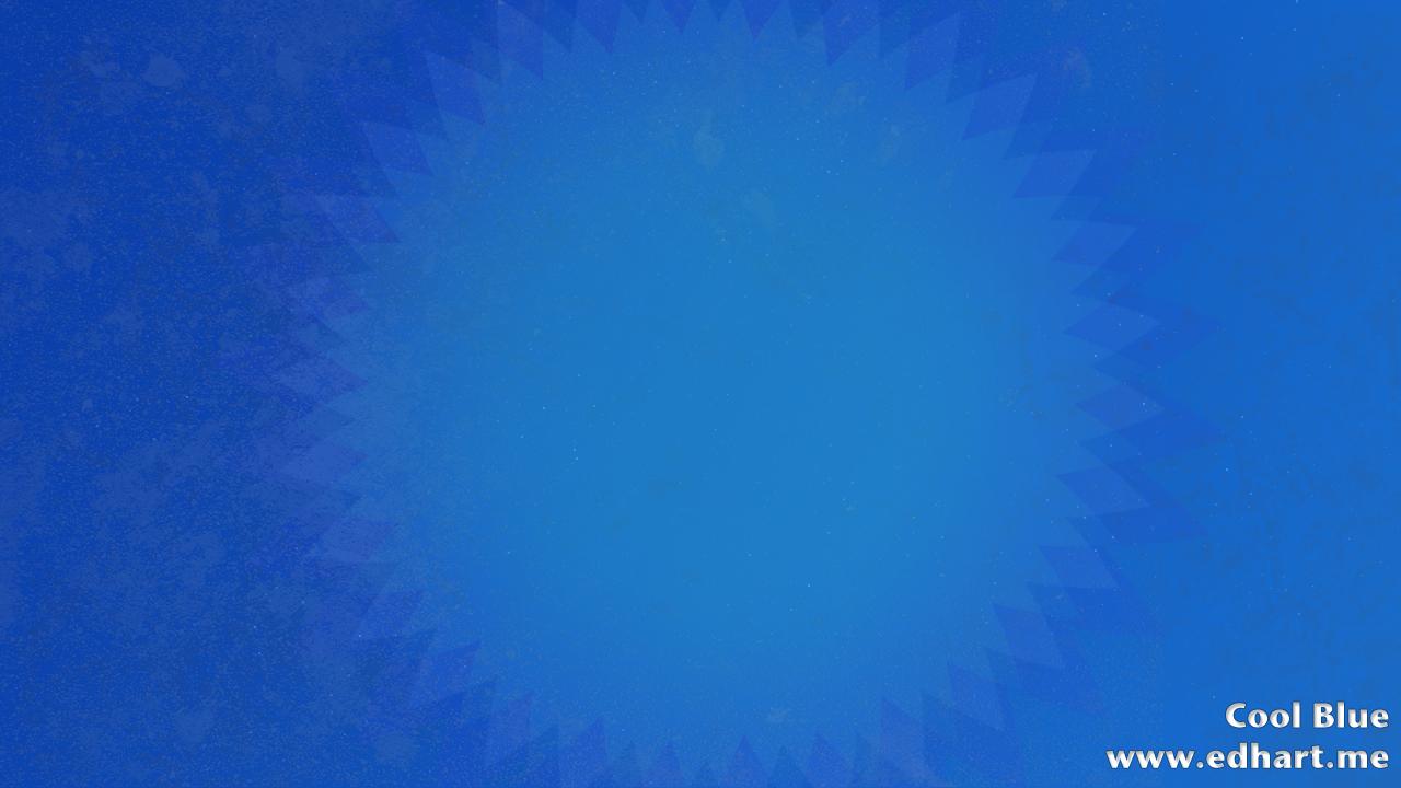Cool Blue Photoshop
