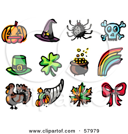Different Holidays Clip Art