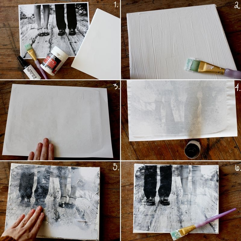 16 DIY Canvas Photography Images