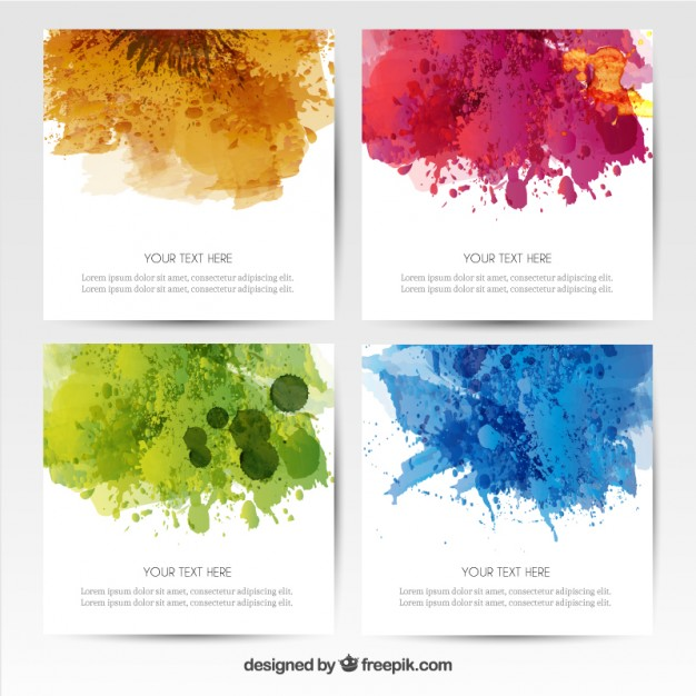 12 Free Watercolor Vector Music Poster Images