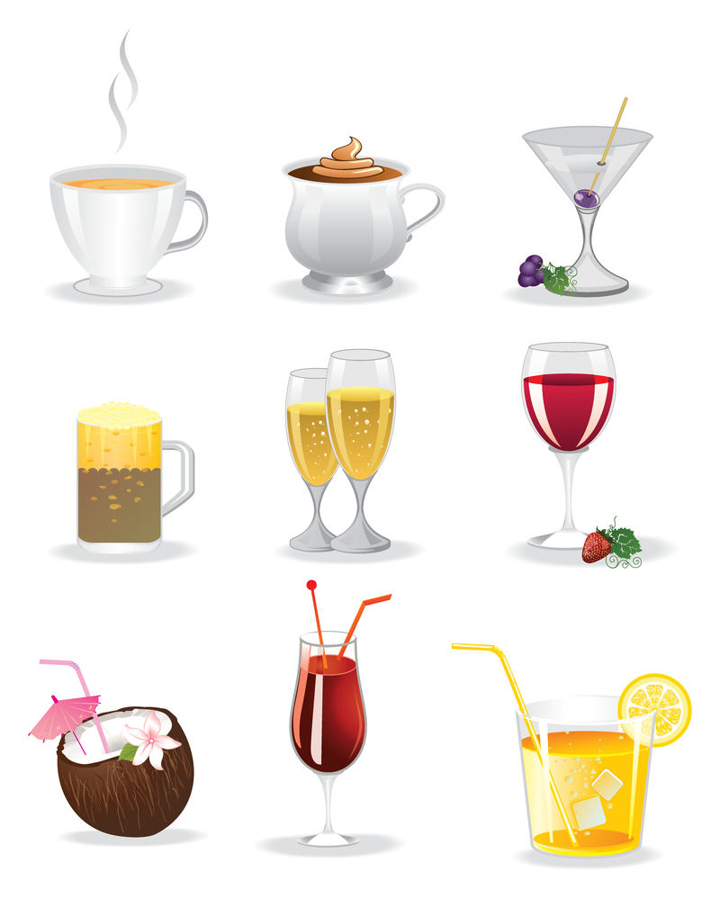 Drinks Icons Download