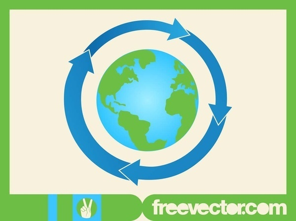 Earth Icon Vector Free