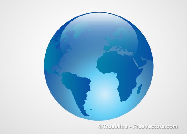 Earth Transparent Icon