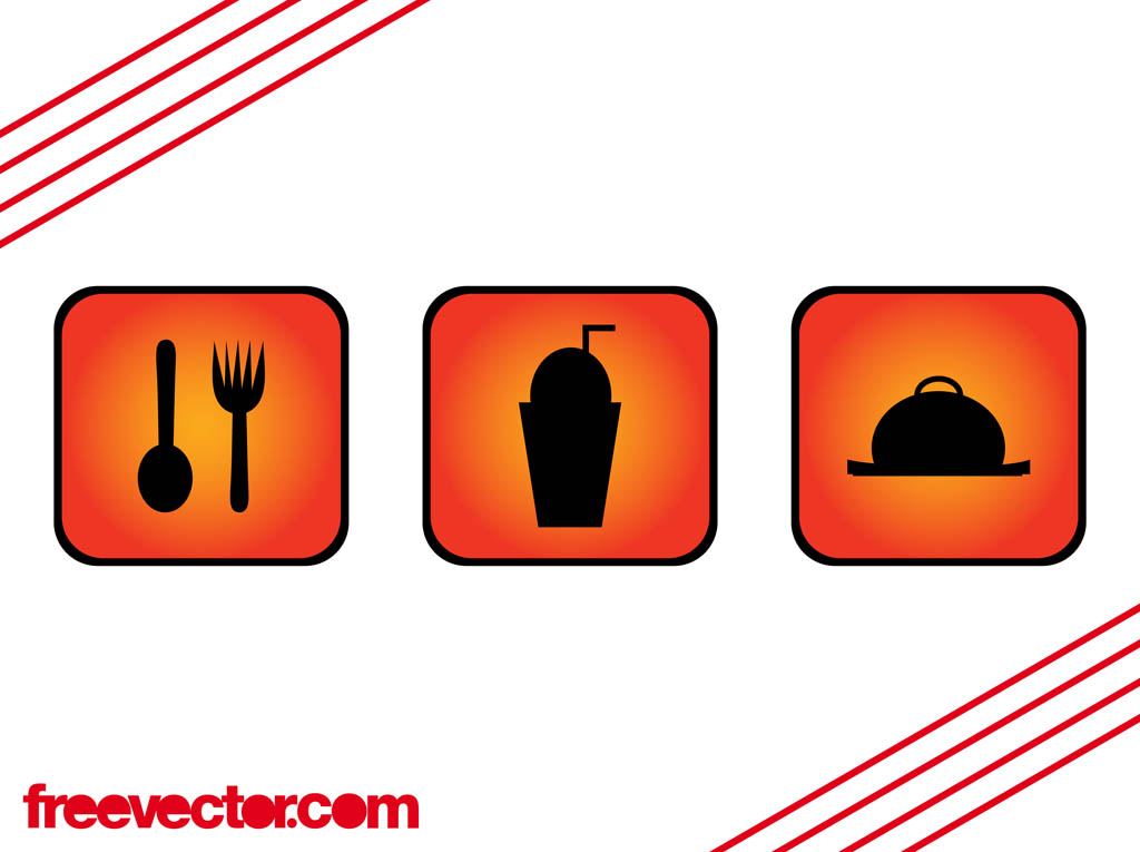 Food and Drink Icons Free