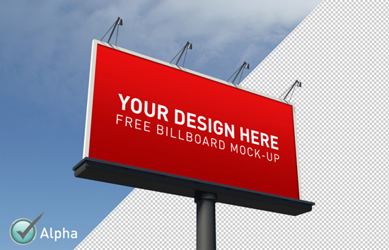 14 Billboard Template PSD Images