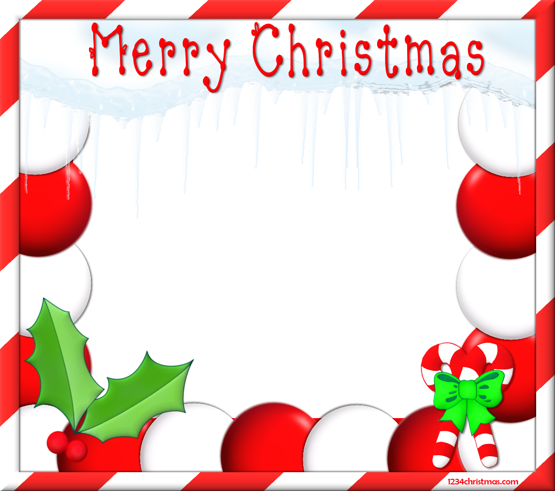 Free Christmas Clip Art Borders Frames