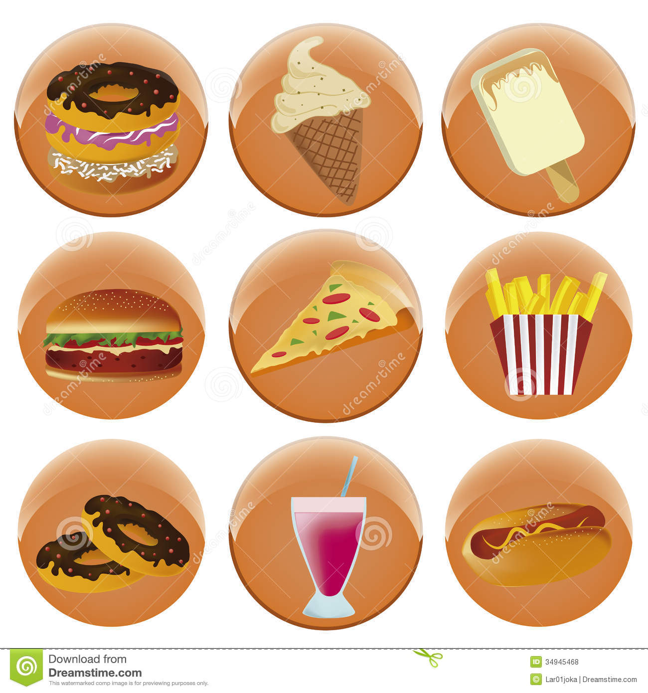 Free Food Menu Icons