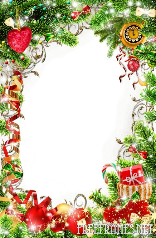 Free Photoshop Christmas Frame Templates
