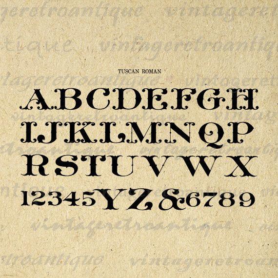 Free Printable Western Alphabet Letters