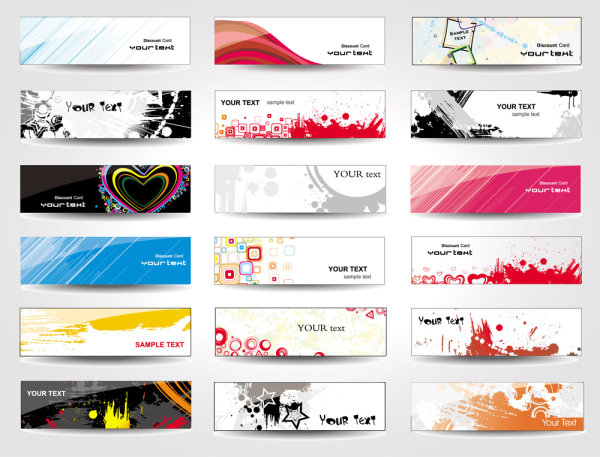 16 vector business card template images free vector business card free vector business card templates accmission Images
