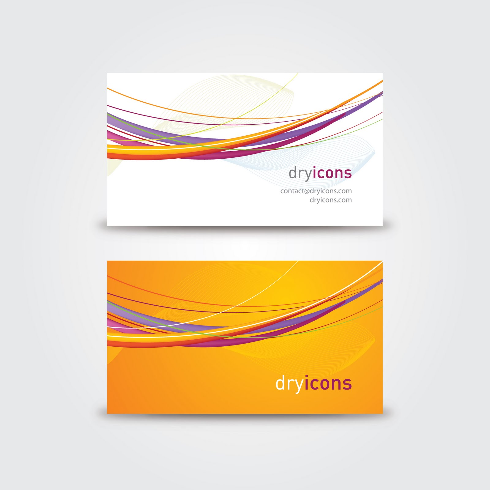 16 vector business card template images free vector business