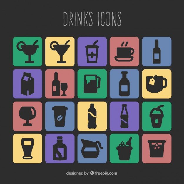 Free Vector Icons Drink