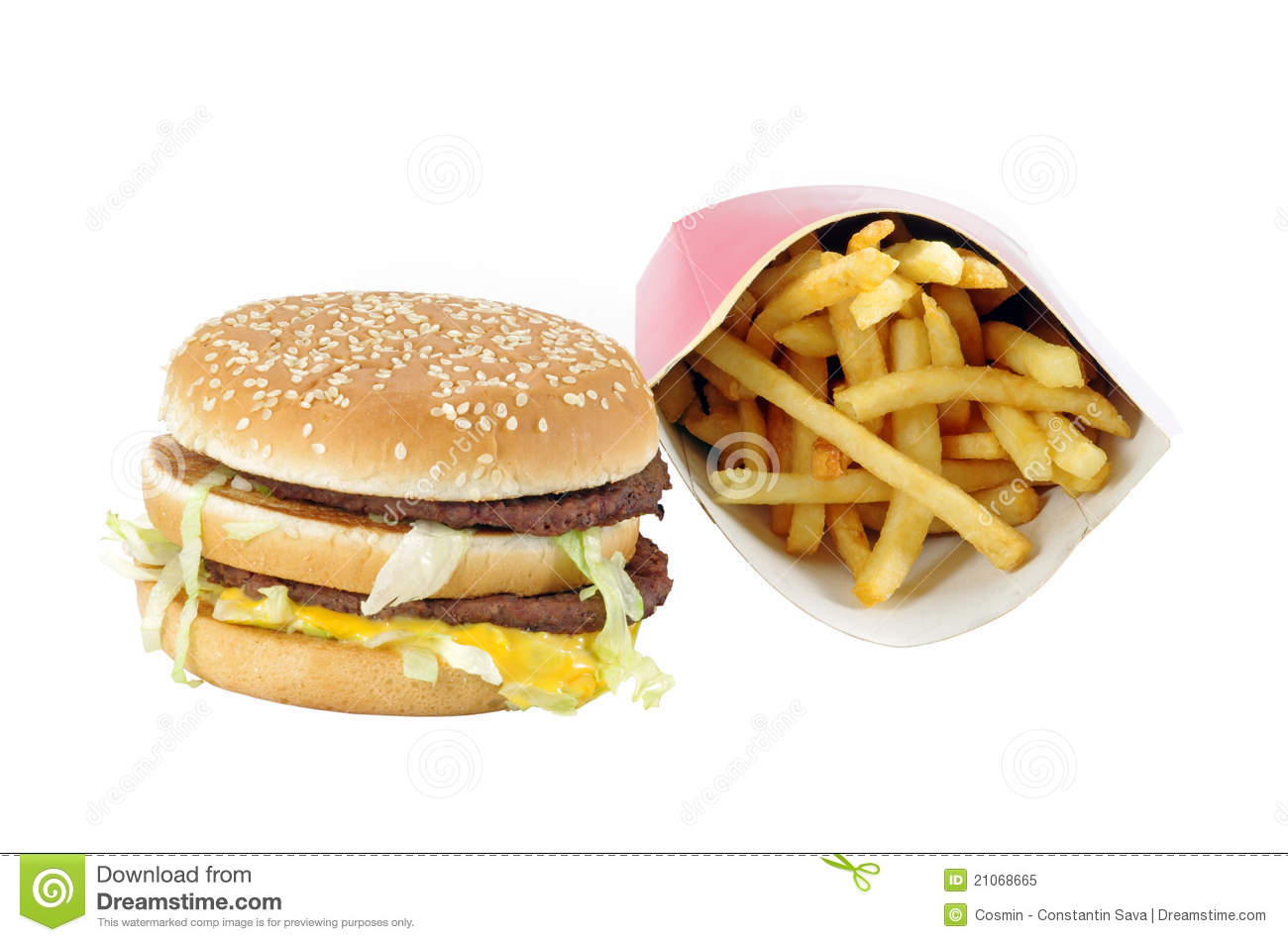 French Menus Fast Food