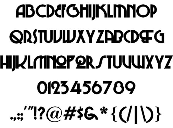 Gangster Graffiti Letter Fonts