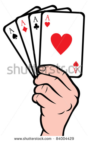 7 Vector Hand Holding Card Images