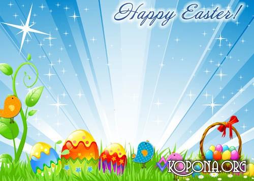 16 Easter Frames Psd Images