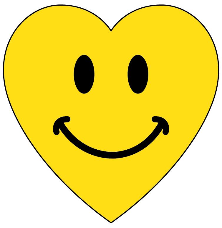 Heart Smiley Face Clip Art