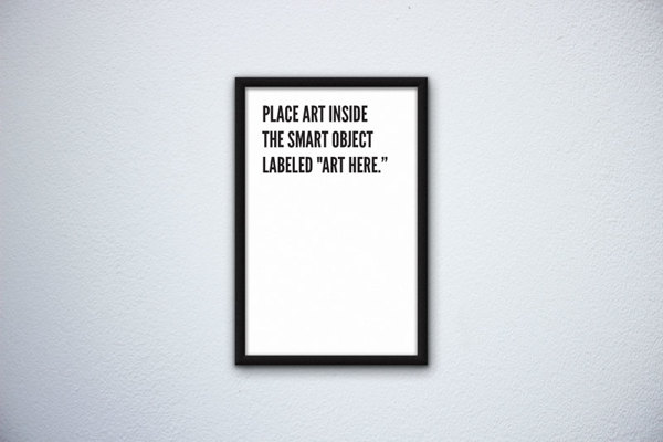 Horizontal Poster Mockup Psd Free