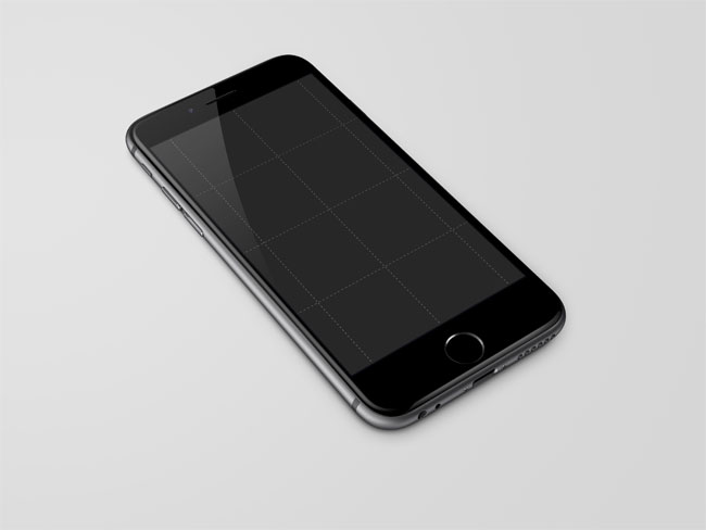 iPhone 6 Mock Up Psd Free