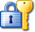 Lock and Key Icon