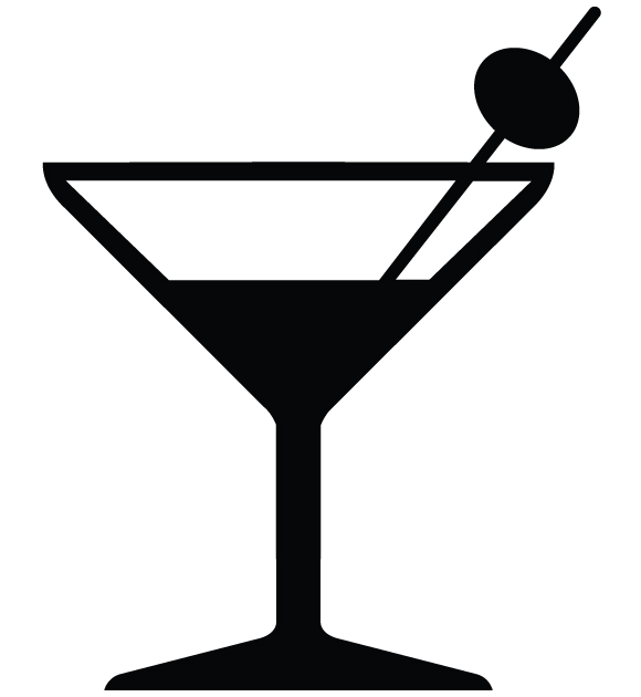 Martini Glass Vector Free