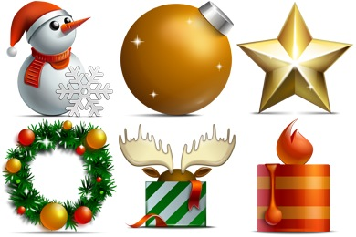 17 Merry Christmas Free Icons Images