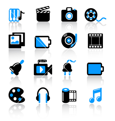 Multimedia Icons Download