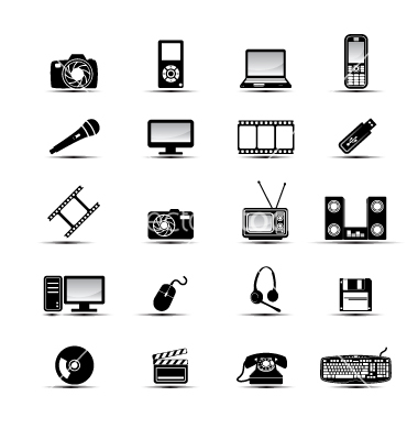 Multimedia Icons Free