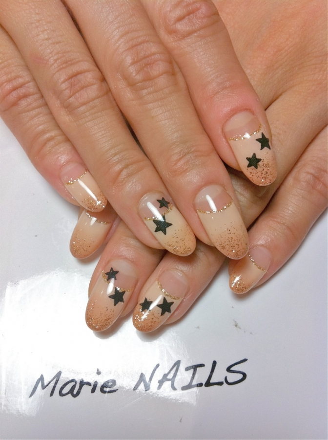 Nail Art Designs with Stars