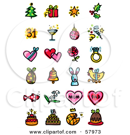 New Year's Day Clip Art Free