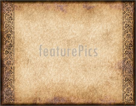 Old Parchment Paper Template