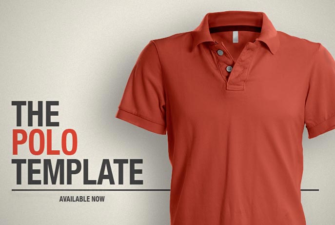 11 Polo Shirt Template PSD Images