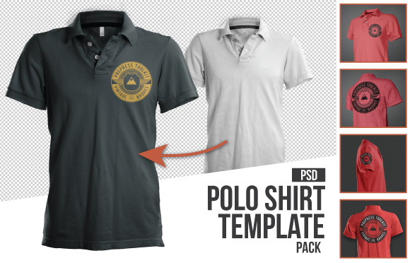 Polo Shirt Mockup Templates