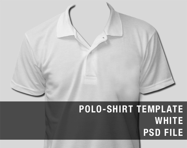Polo Shirt Template Photoshop