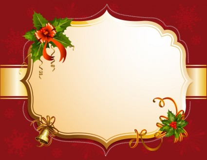Red Christmas Frames