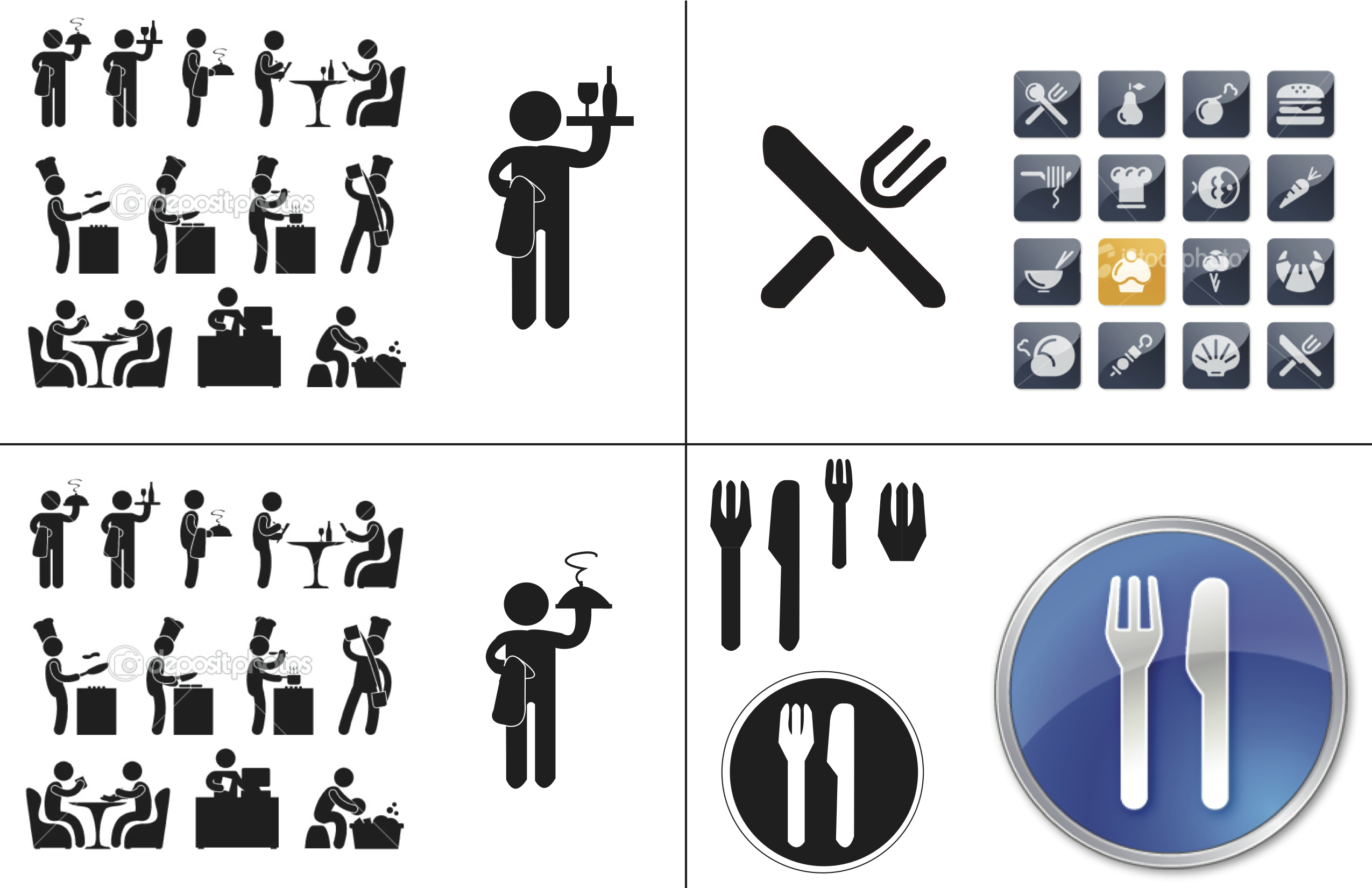 13 Restaurant Location Icon Images