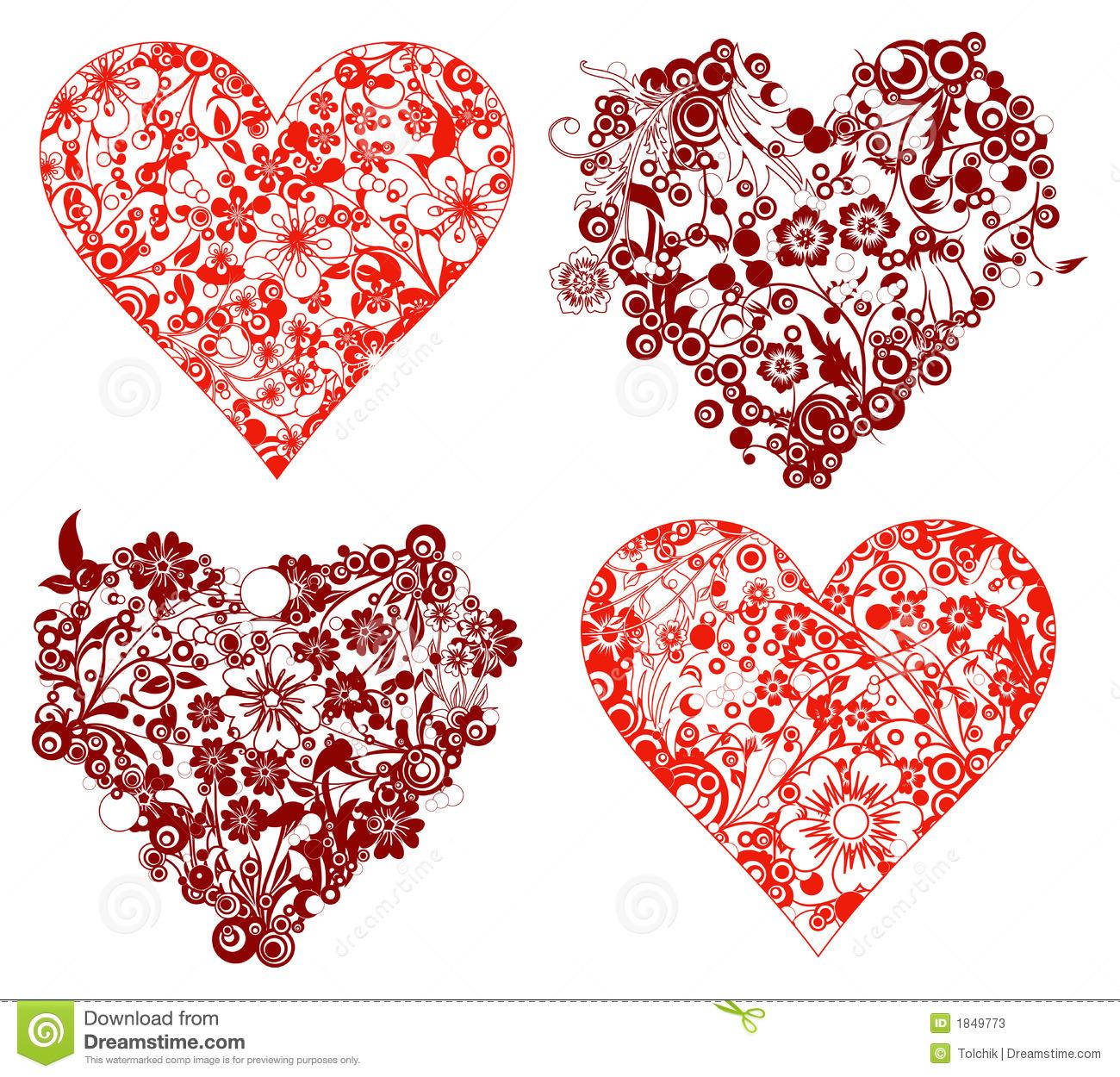 Simple Valentine Vectors