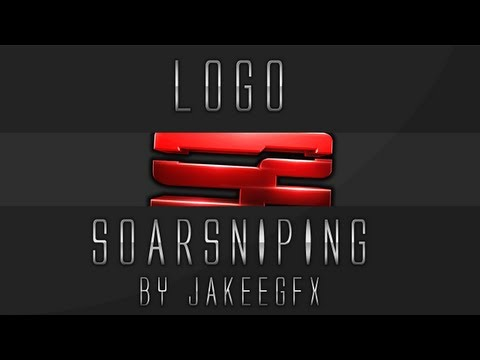 6 Set Sniping Logo PSD Images